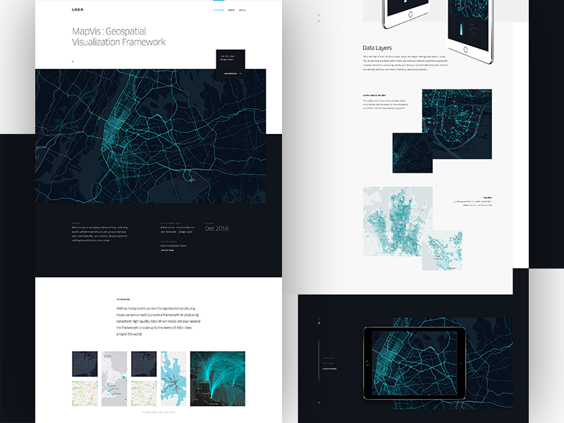 Uber Design Case study by Gene Ross for ueno  on Dribbble