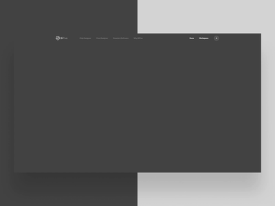 SiFive Home Motion Study typography ux header layout type parallax hero ui web design