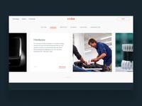 Cruise Tech Motion Study ueno header motion typography layout type parallax hero ui web design