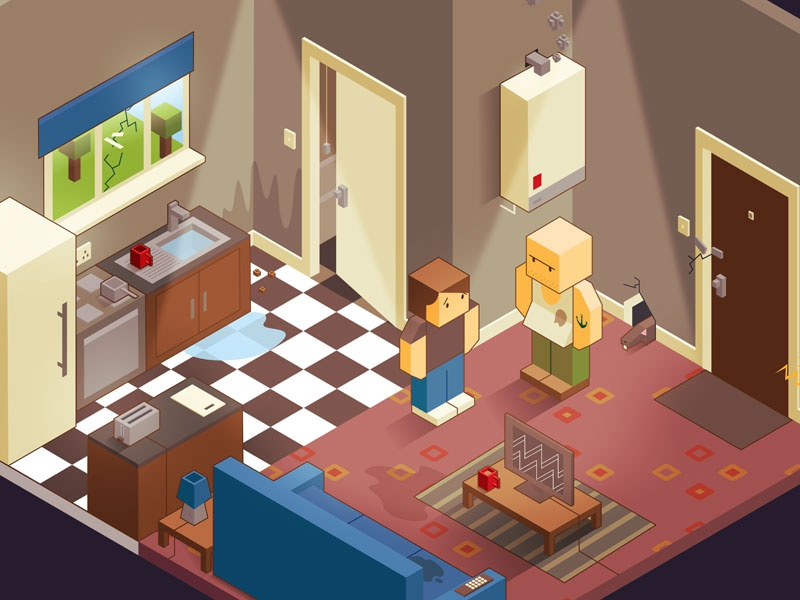 Isometric game design by nik cann - Dribbble on house builder games, architect games, design games, house decorating games, house design, house building games, house planner games,