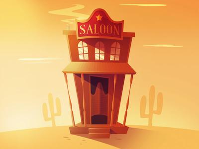Saloon Illustration