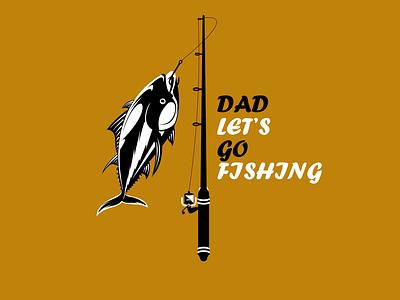 Creative Awesome Logo Design On Fish t-shart tshart animation branding logo graphic design logo maker fish logo logo design