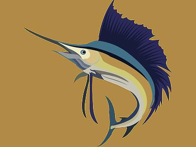 Bass fish vector art branding logo motion graphics graphic design animation image to vector redraw design vector art creative design