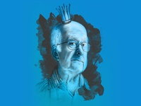 Peter Higgs Illustration
