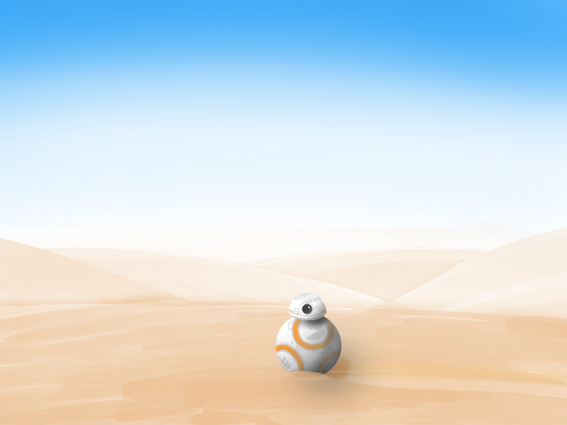 BB-8 sketching procreate ipad pro apple pencil star wars bb-8 drawingtryouts