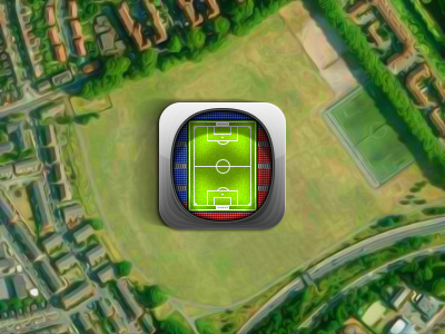Icon update ios app iphone android sport betting football stadium