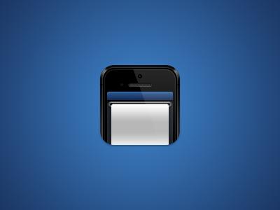 Icon ios app icon iphone ticket wip
