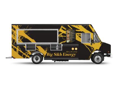 Big Sikh Energy (Exterior Signage)