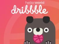 Hello World, I mean Dribbble
