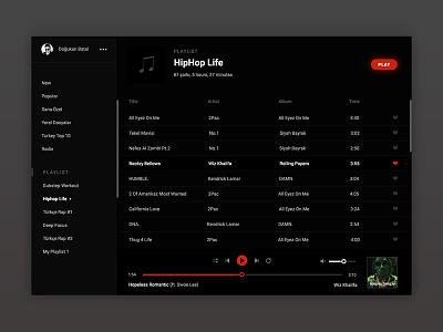Music app design music webdesign uidesign ux ui