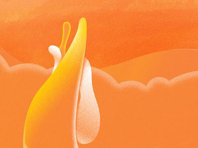 Lava-lamp  lamp lava illustration abstract gradient texture light liquid color flame orange fire