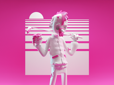 Hotline Miami Sculpt WIP