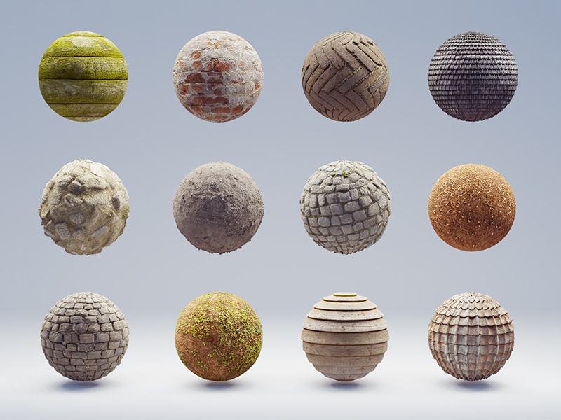 Texture Haven 3ds c4d blender materials material pbr texture haven texture render