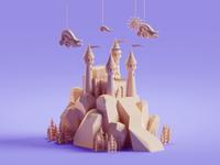 Random Castle render