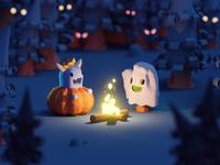 Halloween 2018 (WIP shot)