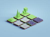 Random 3D tiles