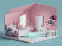 Quick room render