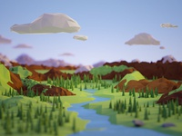 Low poly environments