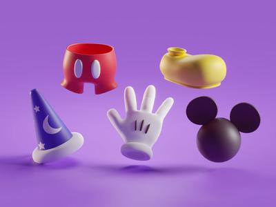 Mickey items