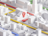 City Map Concept