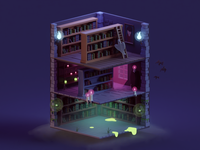 Haunted Library (WIP)