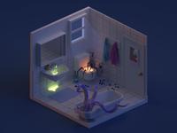 Bathroom (Dark Version)
