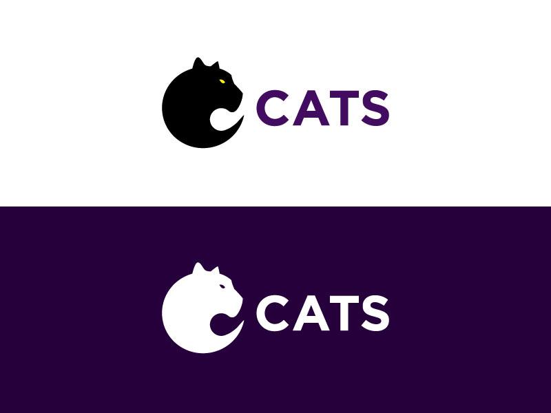 Cats Logo cat cats panther logo c