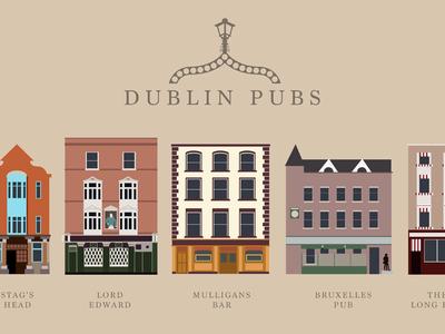 Dublin Pub Poster