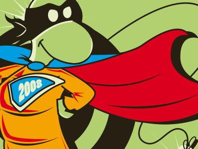 T-Shirt illustration - Super Hero