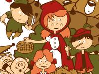 T-Shirt illustration - Fairy Tales
