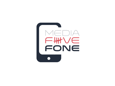Logo proposition - Media5 Fone logo media phone fone 5 five app