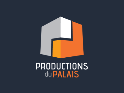 Logo - Productions du Palais logo productions media events