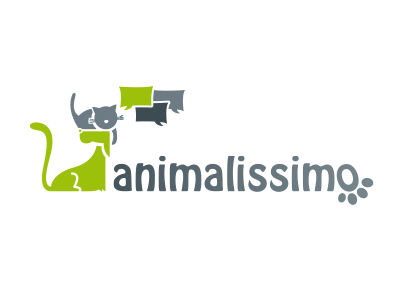 Logo - Animalissimo logo animals cat dog forum speech