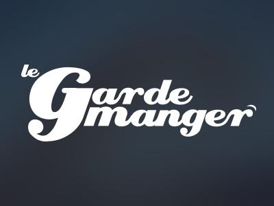 Logo proposition - Le Garde Manger