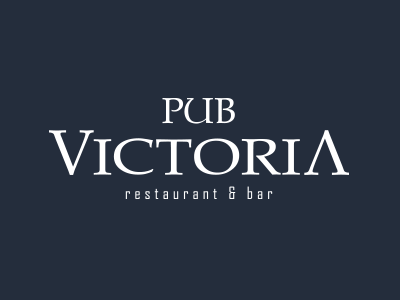Logo - Pub Victoria logo resto pub food irish bar grill