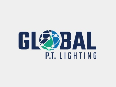 Logo - Global P.T. Lighting logo lighting led world