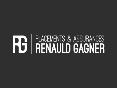 Logo - Placements & Assurances Renauld Gagner logo assurances placements impôts corpo signature