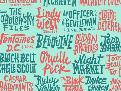 THING handlettering branding poster handdrawn logo typography lettering handlettering type