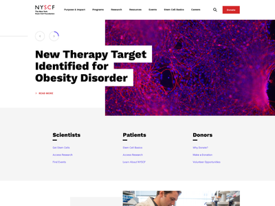 The New York Stem Cell Foundation - Homepage