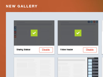 AddThis Pro Widget Gallery addthis gallery app store