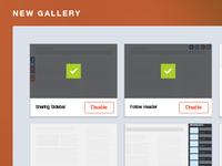 AddThis Pro Widget Gallery