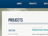Project Profiles for Construction Co
