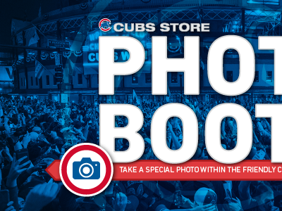 Cubs Store Photo Booth Intro