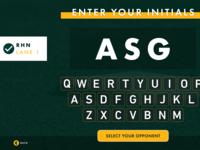 Input Your Initials
