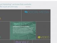 Online Marketing Website Concept Revised
