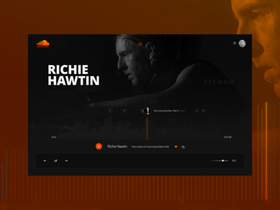 Soundcloud mockup mockup remake ui ux soundcloud