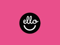 Ello-Dribbble Logo