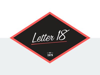 New Self Identity Letter 18