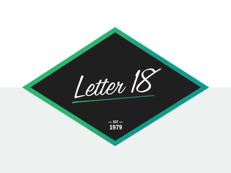 Rebound: New Self Identity Letter 18 self identity id branding design letter 18 letter 18 studio