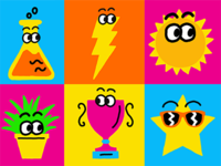 Nickelodeon May Prime Icons
